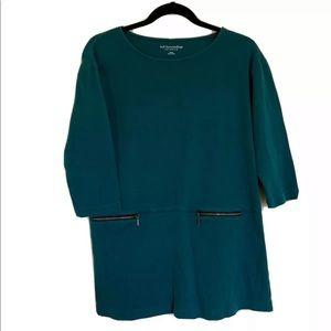 Soft Surroundings Moda Tunic Top Size Small
